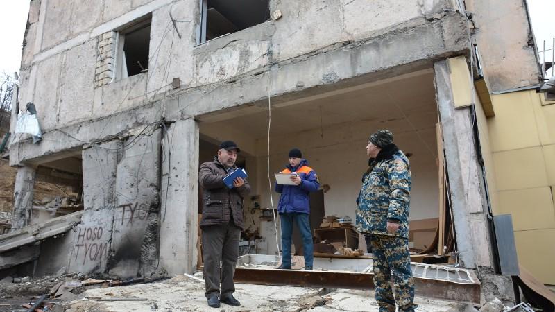 Պատերազմից տուժած Ստեփանակերտն ու մյուս բնակավայրերը կարճ ժամանակահատվածում կվերականգնվեն. ԱՀ ԱԻՊԾ