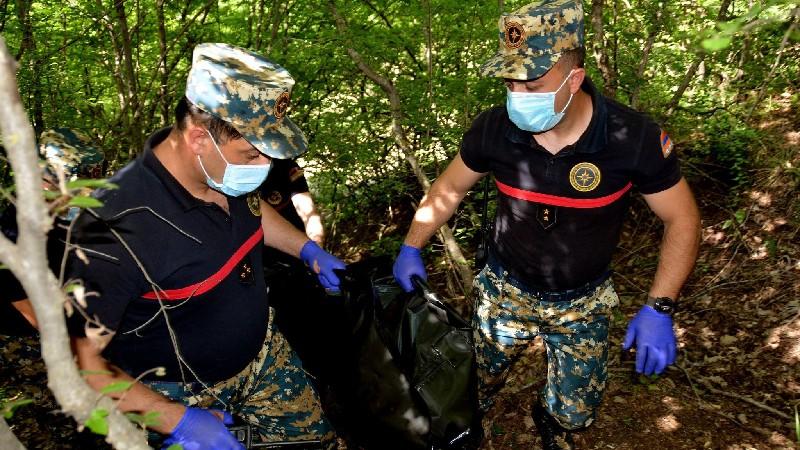 Ջրականի (Ջաբրայիլ) շրջանում հայտնաբերվել է ևս 2 հայ զինծառայողի աճյուն. ԱՀ ԱԻՊԾ