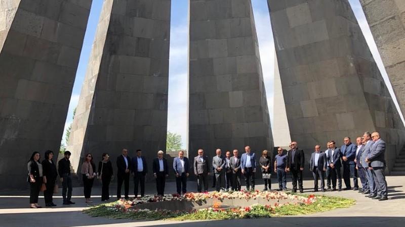 Արցախի Հանրապետության Ազգային ժողովի պատվիրակությունը աշխատանքային այցով Երևանում է