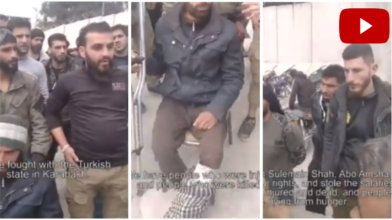 Արցախի դեմ պատերազմում ներգրավված ահաբեկիչներին չեն վճարել, նրանք սովի են մատնվել (տեսանյութ)