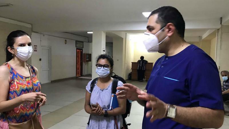 ԱՀԿ ներկայացուցիչներն այցելել են «Սուրբ Գրիգոր Լուսավորիչ» ԲԿ պոլիկլինիկա`տեղում ծանոթանալու կորոնավիրուսի պայմաններում իրականացվող աշխատանքին