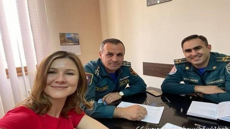 Առաջին հարցախույզը Հայաստանի փրկարար ծառայության աշխատակիցների համար