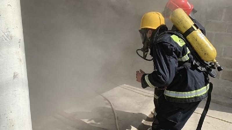 Հրդեհ՝ Գուգարք գյուղում. այրվել է չշահագործվող վագոն-տնակ