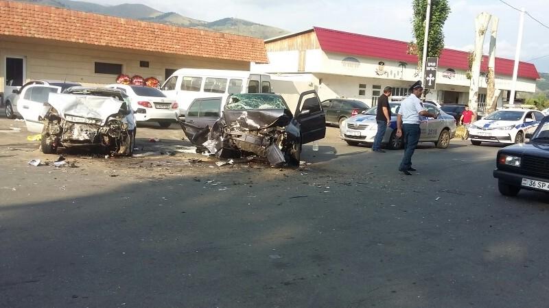 Վանաձոր քաղաքում վթարի հետևանքով հիվանդանոց է տեղափոխվել 7 մարդ