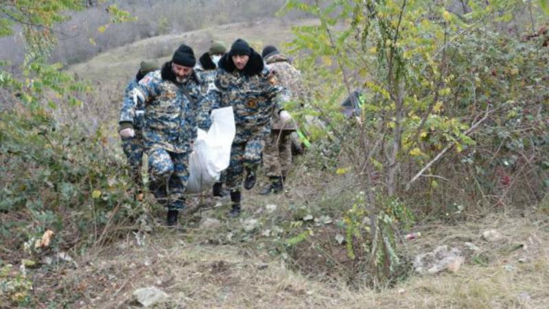 Զոհված զինծառայողների աճյունների որոնողական աշխատանքներն շարունակվում են Ջրականի շրջանում