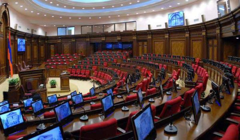 Յոթերորդ գումարման ԱԺ առաջին նիստի օրակարգում ընդգրկված հարցերը