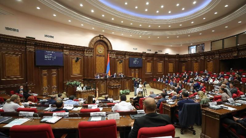 ԱԺ-ն նիստերի օրակարգ չընդգրկեց «Արցախի հարցերով» անվանմամբ հանձնաժողով ունենալու նախագիծը