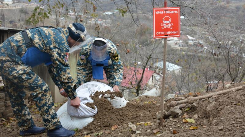 Վարանդայի շրջանում հայտնաբերվել և տարհանվել է ևս մեկ աճյուն. ԱՀ ԱԻՊԾ