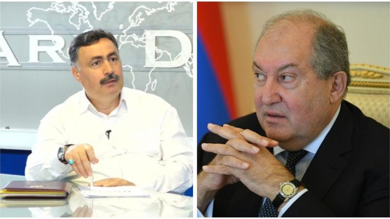 ՀՀ նախագահին հարցրեք՝ ինչ էր անում նոյեմբերի 17-ին Բաքվում. ՌԴ աշխարհաքաղաքական ակադեմիայի ակադեմիկոս. «Իրավունք»