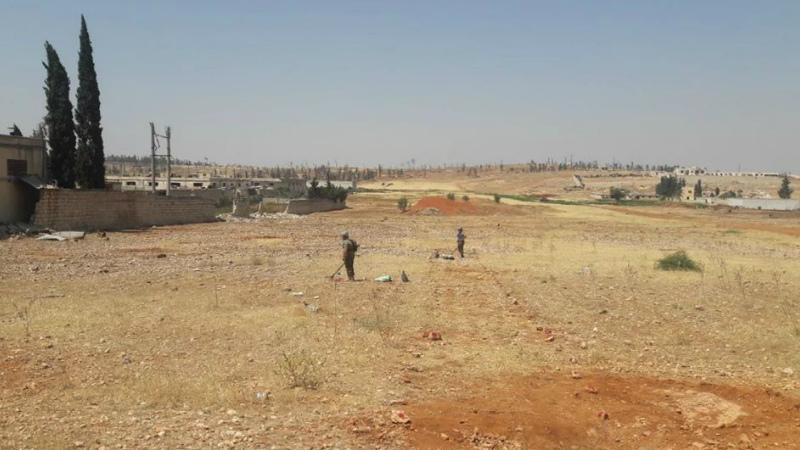 Հայ սակրավորները Սիրիայում 19 878 քմ տարածք են ականազերծել