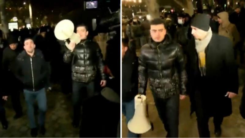 Անհնազանդության ակցիաների մասնակիցները Երևանում փողոցներ են փակում (ուղիղ միացում)