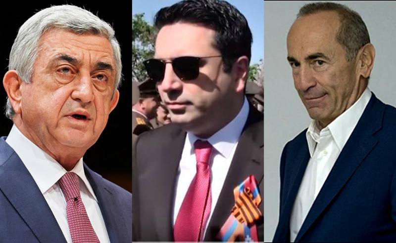Ռոբերտ Քոչարյանին և Սերժ Սարգսյանին նախագահ չասեք. Ալեն Սիմոնյան