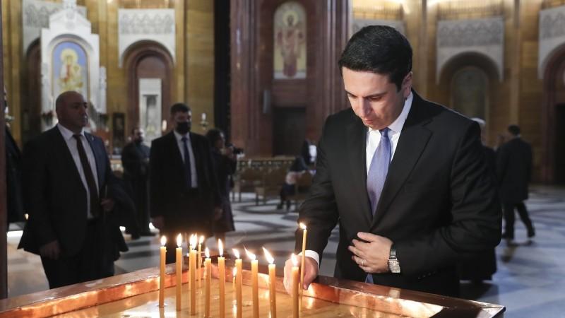 Ալեն Սիմոնյանն այցելել է Հայ Առաքելական եկեղեցու ՌԴ-ի, Նոր Նախիջևանի թեմի Առաջնորդանիստ եկեղեցի