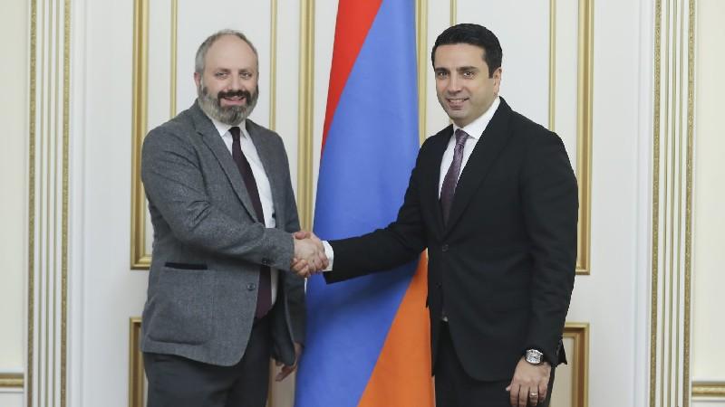 ԱԺ նախագահն ու ՀԲԸՄ Մոնրեալի գրասենյակի ղեկավարն անդրադարձել են Հայաստանում հետպատերազմյան իրադրությանը