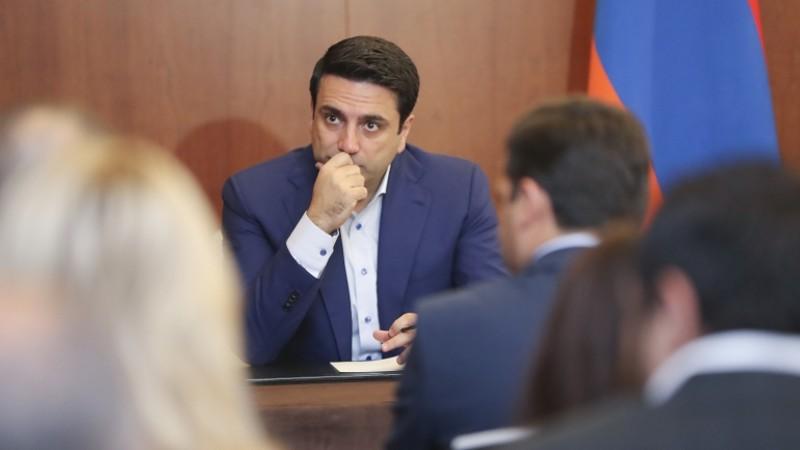 Ալեն Սիմոնյանի գլխավորած պատվիրակությունը հանդիպել է ՌԴ հայ համայնքի ներկայացուցիչների հետ