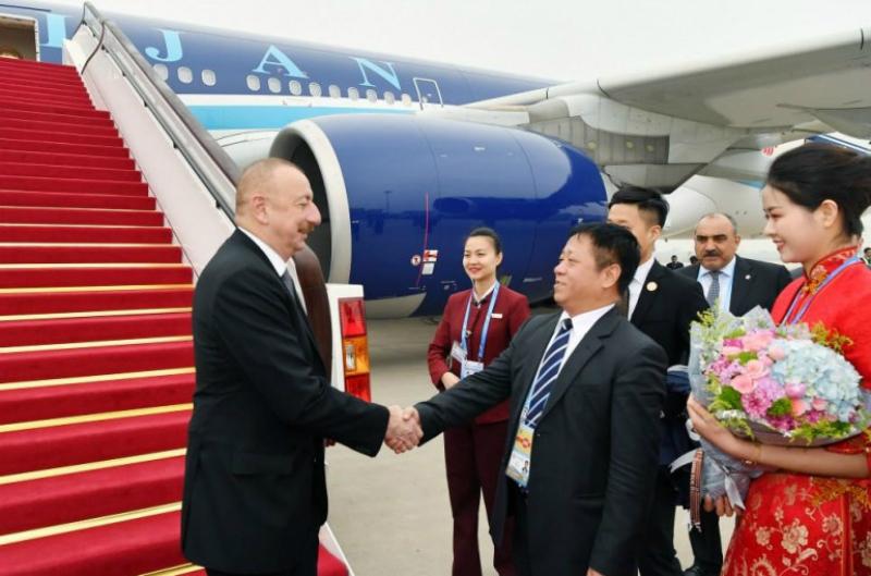 Իլհամ Ալիևն աշխատանքային այցով Չինաստան է մեկնել, որտեղ կհանդիպի Պուտինի հետ