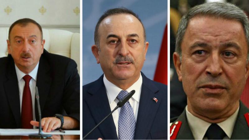Ալիևն ընդունել է Թուրքիայի ԱԳ և պաշտպանության նախարարներին