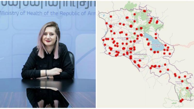 Ի՞նչ փոփոխություններ են կատարվել COVID-19 ինքնամեկուսացված քաղաքացիների քարտեզի մեջ․ պարզաբանում է ԱՆ խոսնակը