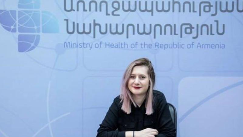 Ալինա Նիկողոսյանը դադարում է իրականացնել առողջապահության նախարարի մամուլի քարտուղարի պարտականությունները