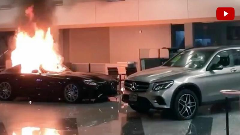ԱՄՆ-ում զանգվածային անկարգությունները չեն դադարում․ ցուցարարնեը ջարդել և այրել են Օքլենդում Mercedes-Benz ավտոսրահի ավտոմեքենաները (տեսանյութ)