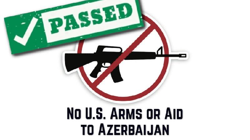 ԱՄՆ Ներկայացուցիչների Պալատն ընդունեց Ադրբեջանին ռազմական օգնությունից զրկելու վերաբերյալ բանաձևը
