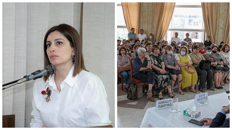 Անահիտ Ավանեսյանը Շիրակի և Լոռու մարզերի բուժաշխատողների հետ է հանդիպել