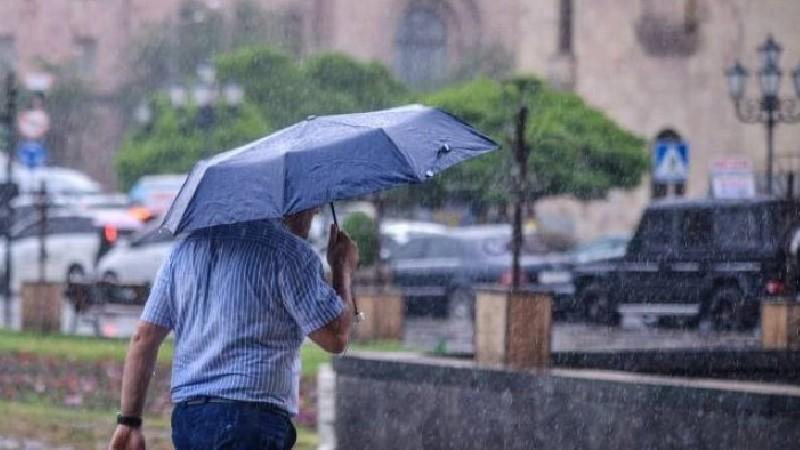 Հանրապետության տարածքում սպասվում է անձրև և ամպրոպ