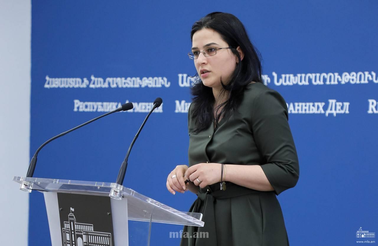 Հայաստանի ԱԳՆ խոսնակն արձագանքել է Սերգեյ Լավրովի հայտարարություններին