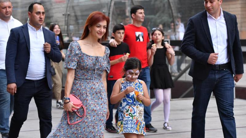 Երեխաների պաշտպանության օրը Երևանում. Աննա Հակոբյանը լուսանկարներ է հրապարակել