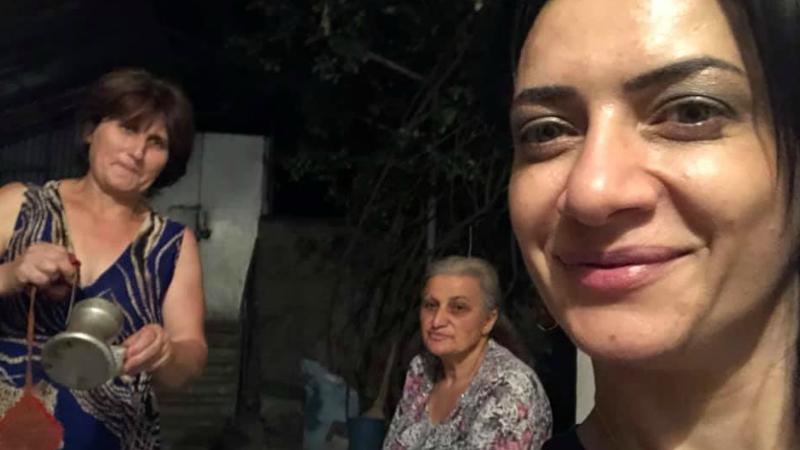 Երեկ գիշերեցի Այգեպարում՝ Կիզոխյանների տանը. Աննա Հակոբյանը լուսանկար է հրապարակել