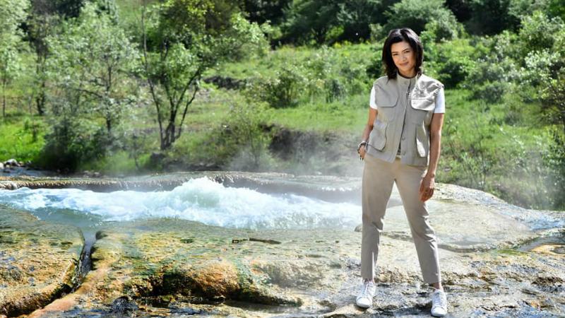 Ջերմաջուր․ բնության հրաշալիքը․ Աննա Հակոբյանը լուսանկարներ է հրապարակել