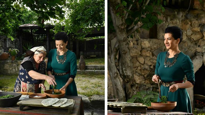 Վարչապետի կին Աննա Հակոբյանը՝ գովազդային արշավի մոդել