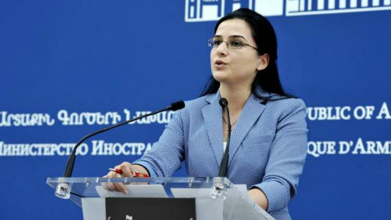 Հայաստանը մերժում է սպառնալիքի լեզուն. Աննա Նաղդալյանի պատասխանը՝ «Ինտերֆաքս»-ին