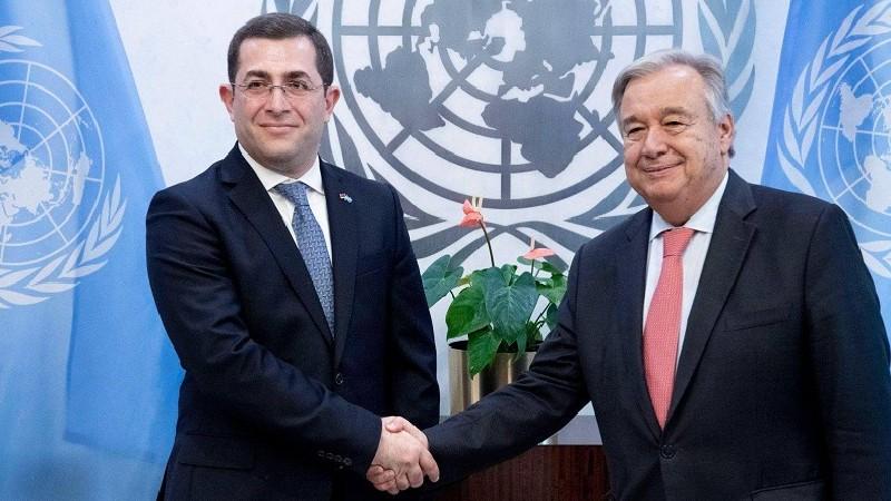 Ադրբեջանի տարածքային պահանջները սնանկ են. ՄԱԿ-ում ՀՀ մշտական ներկայացուցիչը՝ Անտոնիո Գուտերեշին
