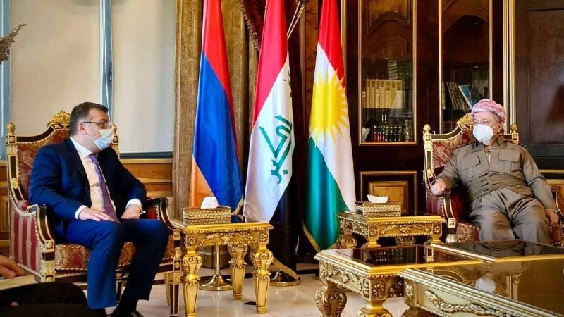 Կարևորվել է կանոնավոր ուղիղ չվերթների շուտափույթ վերսկսումը․ ՀՀ ԱԳ նախարարի տեղակալը հանդիպել է Իրաքյան Քուրդիստանի վարչապետի հետ