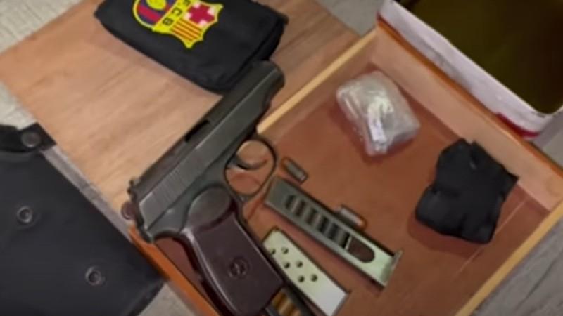Երևանում մեծաքանակ թմրամիջոց և զինանոց է հայտնաբերվել (տեսանյութ)