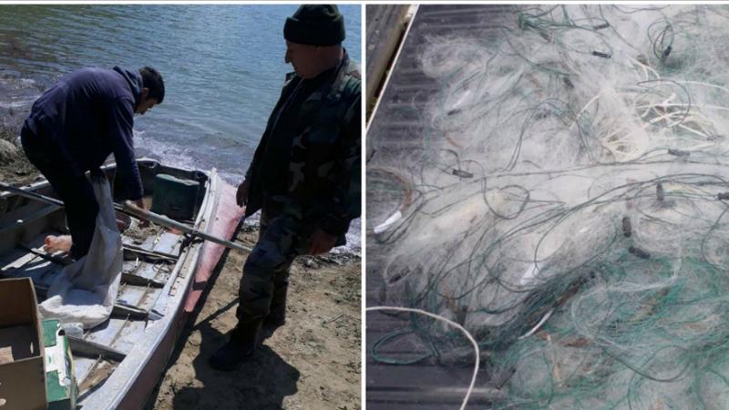 Ազատի ջրամբարում առգրավվել են ձկնորսական դնովի 2 ցանց՝ 200 մետր ընդհանուր երկարությամբ․ հարուցվել են վարչական վարույթներ