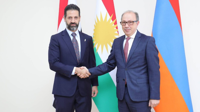 Արա Այվազյանը հանդիպել է Իրաքյան Քուրդիստանի տարածաշրջանային կառավարության փոխվարչապետ Քուբադ Թալաբանիի հետ. ԱԳՆ (տեսանյութ)