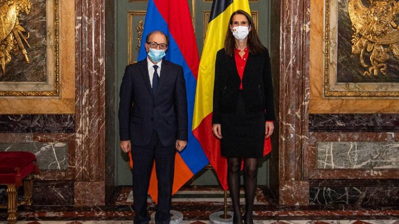 Հայաստանի և Բելգիայի ԱԳ նախարարները քննարկել են տարածաշրջանային անվտանգության և կայունության հարցեր