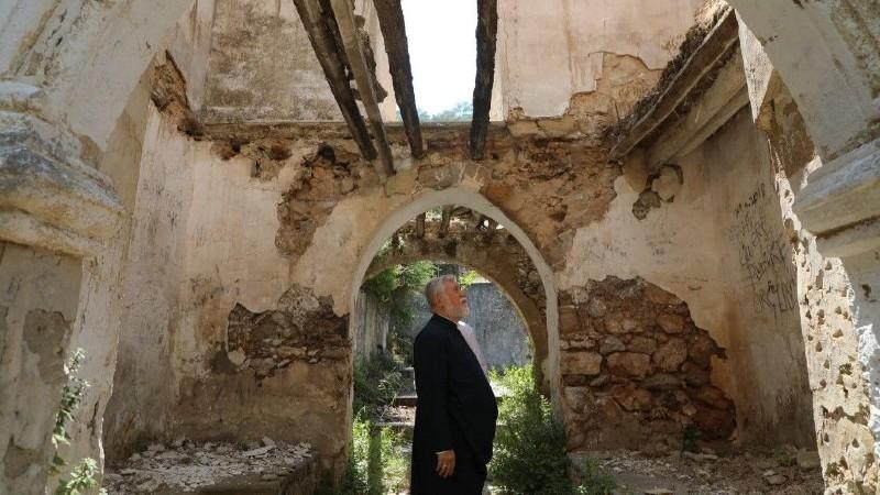 Ն․Ս․Օ․Տ․Տ․ Արամ Ա կաթողիկոսը դատապարտում է Կիպրոսի Մակար վանքում թուրքերի կողմից կատարած հակակրոնական դեպքը