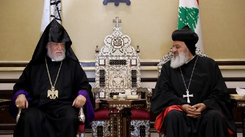 Արամ Ա-ն և Աֆրամ Բ-ն հանդիպել են․ անդրադարձել են հայ եւ ասորի եկեղեցիների կապին