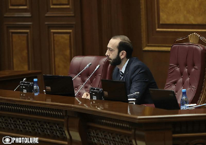 Արարատ Միրզոյանը 4 պատգամավորի զրկեց ԱԺ նիստին ներկա լինելու իրավունքից