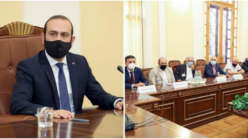 Հետաքրքիր և բովանդակալից քննարկում ունեցանք հետհեղափոխական Հայաստանի տնտեսության և այլ կարևոր հարցերի վերաբերյալ․ Արարատ Միրզոյան