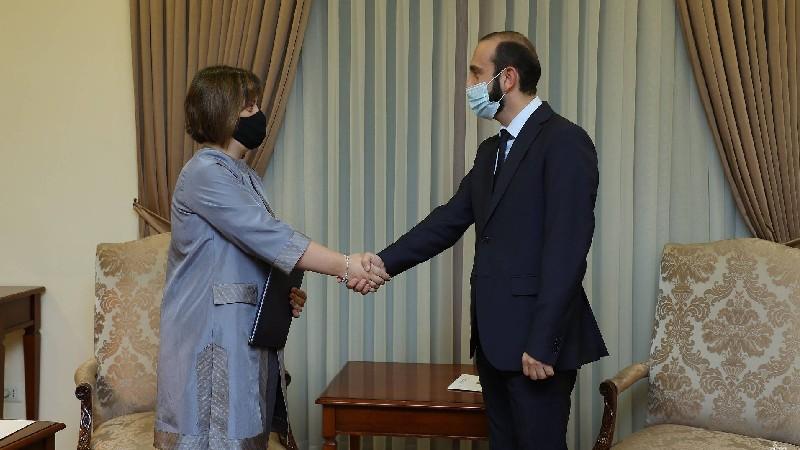 Արարատ Միրզոյանն ընդունել է ՄԱԿ-ի գործակալությունների հայաստանյան ներկայացուցիչներին