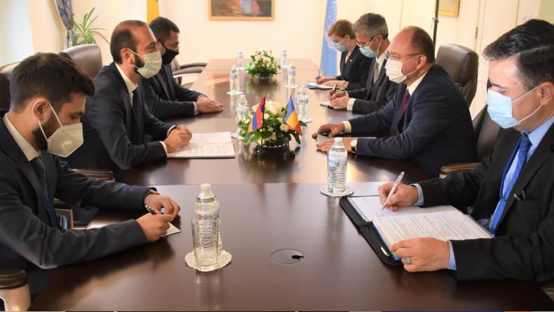 Հայաստանի և Ռումինիայի ԱԳ նախարարները մտքեր են փոխանակել Հայաստան-ԵՄ համագործակցության և մի շարք այլ հարցերի շուրջ (տեսանյութ)