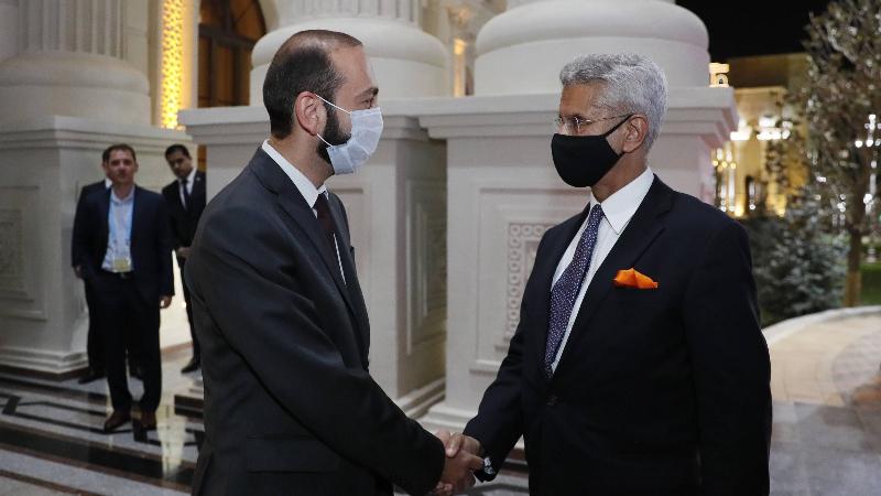 Նախարար Միրզոյանն Հնդկաստանի ԱԳ նախարարին է ներկայացրել Ադրբեջանի ԶՈւ-երի կողմից ՀՀ ինքնիշխան տարածք ներթափանցելու արդյունքում ստեղծված իրավիճակը