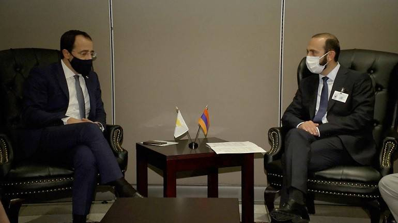 Հայաստանի և Կիպրոսի ԱԳ նախարարները մտքեր են փոխանակել տարածաշրջանային անվտանգության և կայունության հարցերի շուրջ