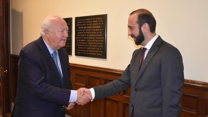 Արարատ Միրզոյանը Միգել Անխել Մորատինոսին ներկայացրել է ԼՂ ժողովրդի դեմ Ադրբեջանի սանձազերծած պատերազմի հետևանքով ստեղծված մարտահրավերները