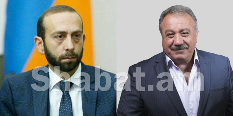 Արարատ Միրզոյանը խմբակցության նիստերից չի բացակայում