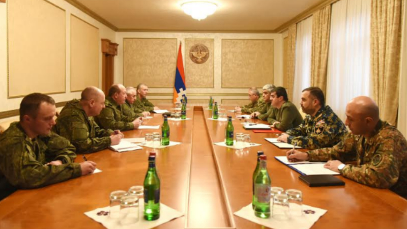 Արայիկ Հարությունյանն ընդունել է ՌԴ զինված ուժերի ինժեներական զորքերի պետին
